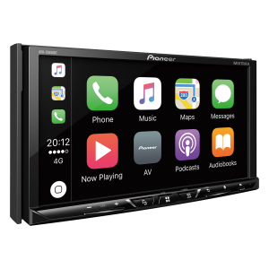 New Pioneer Apple Car Play stereo.