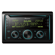Double Din Pioneer Bluetooth CD Stereo Radio.