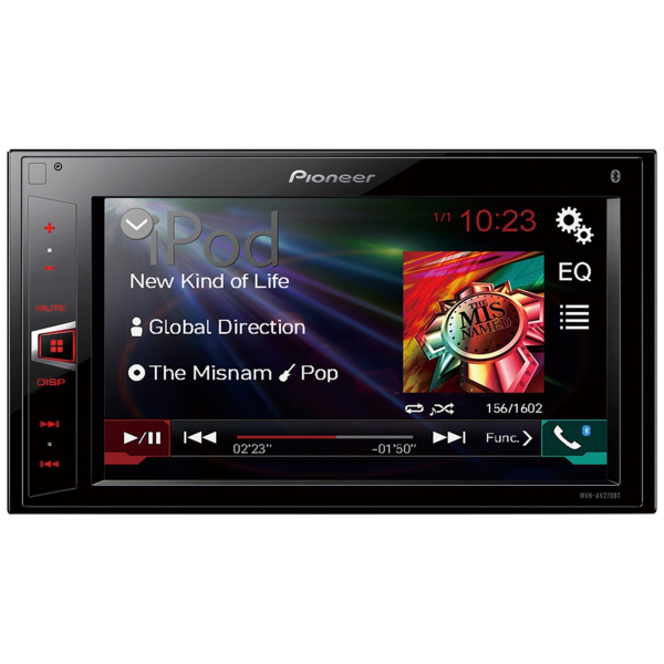 Pioneer Bluetooth touch screen stereo.