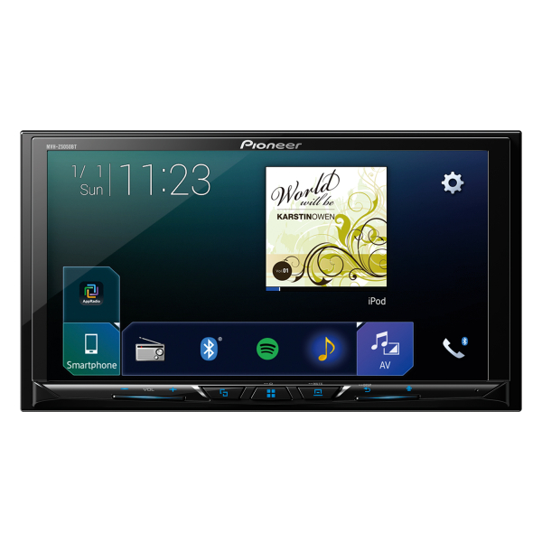 Pioneer Bluetooth Stereo with Android Auto & Apple Car Play.
