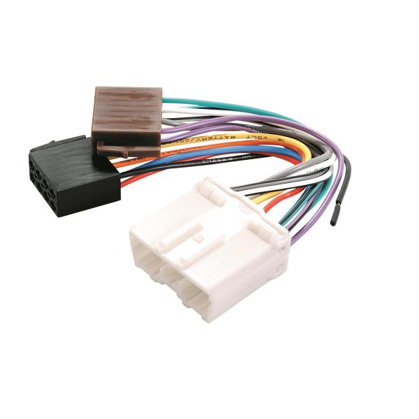 Mitsubishi to ISO wiring harness.
