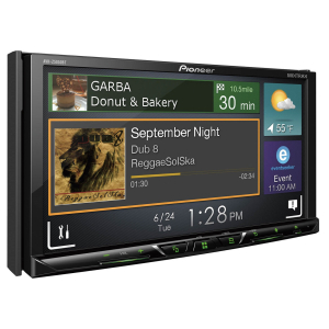 "Pioneer Bluetooth DVD with 7"" touch screen. Car Play & Android Auto."