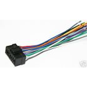JVC wiring connector harness